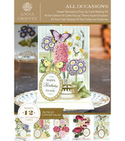 Anna Griffin Sweet Salutations Pop Up Cardmaking Kit, , hi-res