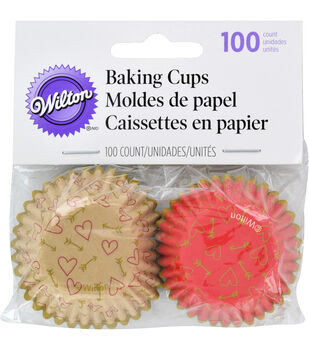 Wilton® Mini Baking Cups-Comfort And Connect 100/Pkg