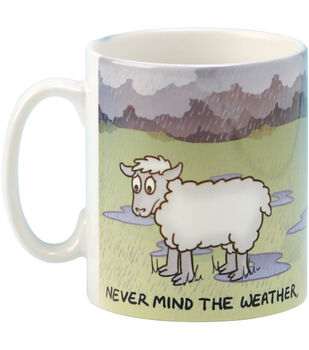 Vanessa Bee Designs Coffee Mug-Never Mind The Weather