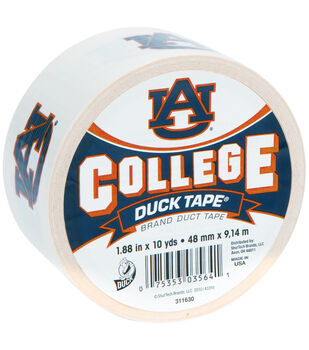 Duck Tape College Logo Auburn