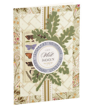 Anna Griffin Card Kit Get Well Soon Botanical