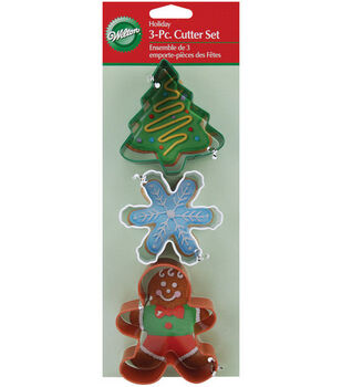 Wilton® Cookie Cutters-3PK/Holiday