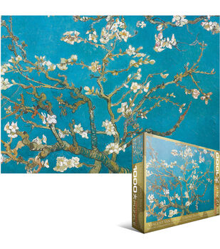 Euro Graphics Jigsaw Puzzle Van Gogh Almond Branches In Bloom