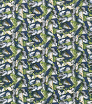 Nautical Fabric- Mussels Cotton, , hi-res