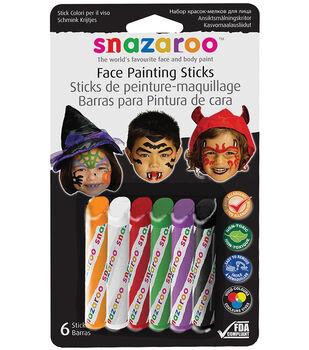 6ct Face Painting Sticks Halloween