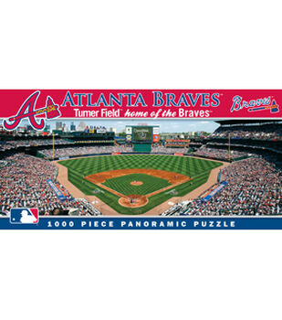 Atlanta Braves MLB Master Pieces Panoramic Puzzle