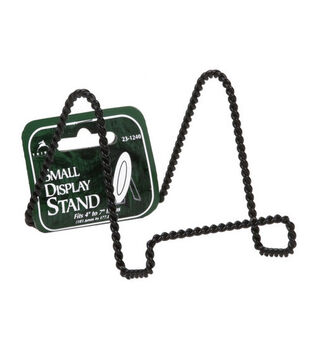 "3"" Twisted Display Stands - Black"