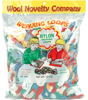 16 oz. Nylon Weaving Loops-Multi