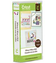 Cricut® Everyday Cartridge-When I Was A Kid, , hi-res