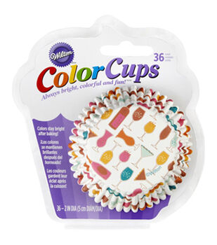 Wilton® Cupcakes are my Cocktails Baking Cups 36ct