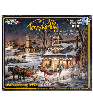 White Mountain Puzzles Evening Rehearsal Jigsaw Puzzle