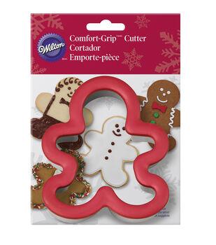 """Comfort-Grip Cookie Cutter 4""""-Gingerbread Boy"""
