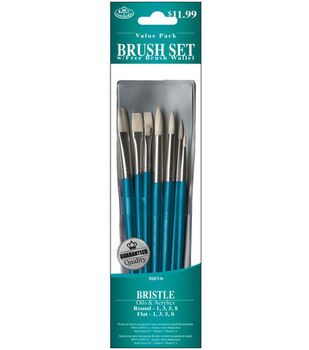Brush Set Value Pack Bristle 8/Pkg