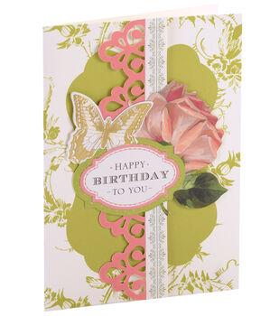 Anna Griffin Card Kit Birthday Floral