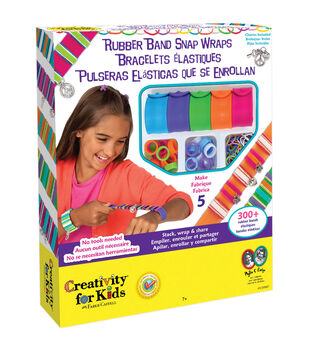 Creativity For Kids Rubber Band Snap Wraps Kit