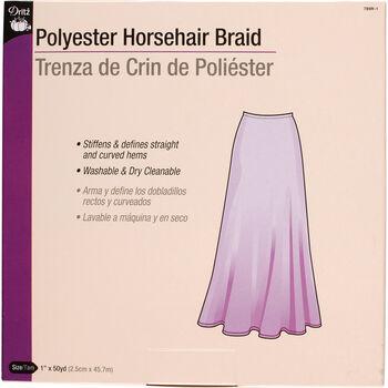 Horsehair Braid-White