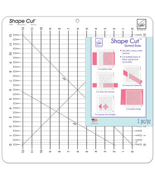 June Tailor Shape Cut Slotted Ruler