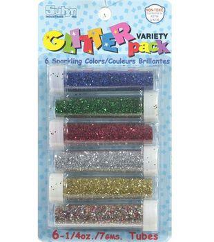 Variety Pack Glitter 1/4 oz. Tubes