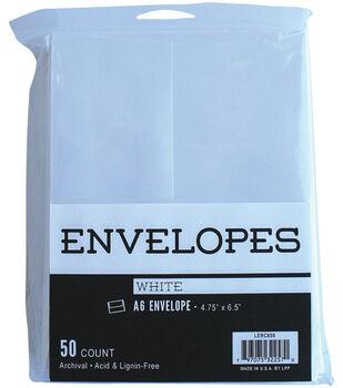 Leader Paper Products 50pcs A6 Envelopes