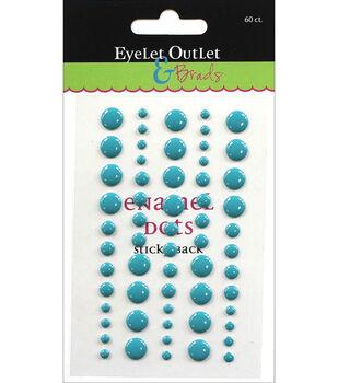 Eyelet Outlet 60ct Enamel Dots