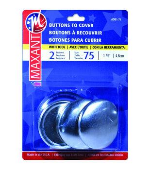 """Cover Button Kit-Size 75 1-7/8"""" 2/Pkg"""