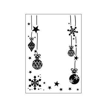 Darice® Embossing Folder - Ornaments, 4-1/4 x 5-3/4 inches