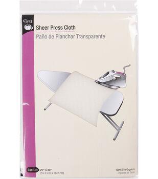 Sheer Press Cloth