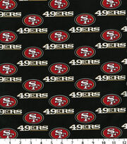 San Francisco 49ers NFL Cotton Fabric by Fabric Traditions, , hi-res