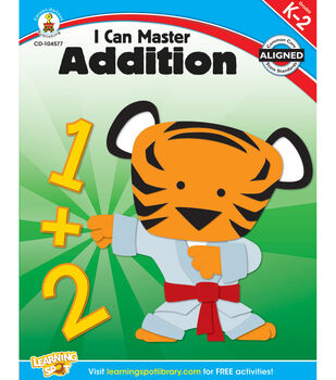 Carson-Dellosa I Can Master Addition Books