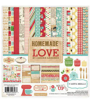Carta Bella Homemade With Love Collection Kit