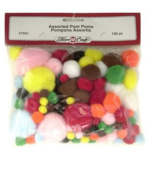 Pom Pom Variety Packs-Assorted Sizes
