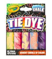 Crayola Tie Dye Sidewalk Chalk 5ct, , hi-res