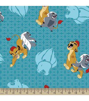 Disney® The Lion Guard Print Fabric-Friend Power