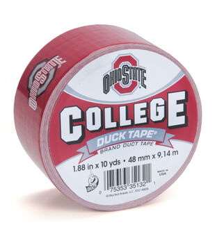 Duck Tape College Logo Ohio State