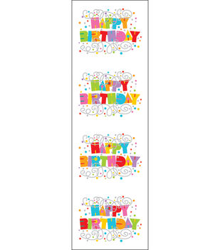 Mrs. Grossman's Stickers-Happy Birthday