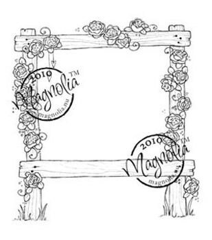 "Wedding Cling Stamp 6.5""X3.5"" Package-Wedding Rose Arch"