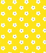 Keepsake Calico™ Cotton Fabric-Miss Daisy Yellow Flower, , hi-res