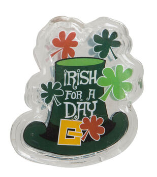 St. Patrick's Day LED Gel Cling-Pot Of Gold