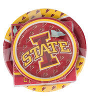 Iowa State NCAA Plate & Napkin Set, , hi-res