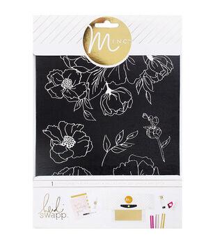 """Heidi Swapp Minc Art Screen 6.5""""X8.5""""-Floral"""