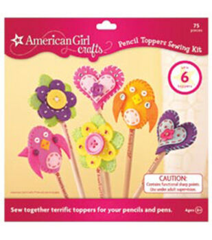 American Girl Sewing Kit-Pencil Toppers