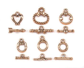 Darice® Toggle Clasps-6PK/Gold