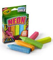 Crayola Neon Sidewalk Chalk 5ct, , hi-res