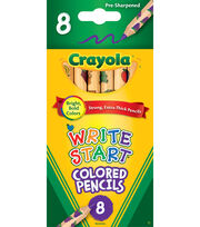 Crayola Write Start Colored Pencils, , hi-res