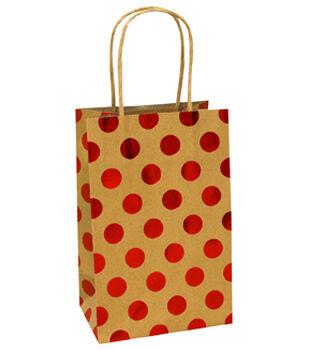 Holiday Cheer Small Bag-Red Dot