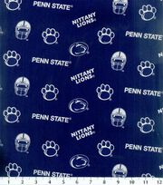 Penn State NCAA  Cotton Fabric, , hi-res