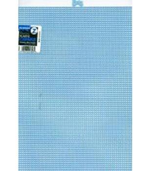 """Plastic Canvas 7 Count 10""""X13""""-Light Blue"""