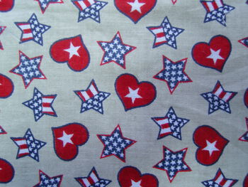 Patriotic Hearts & Stars