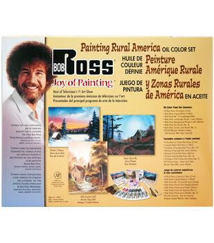 Weber-  Bob Ross Painting Rural America-