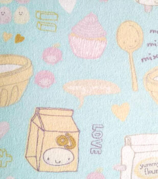 Snuggle Flannel Fabric-Little Bakers